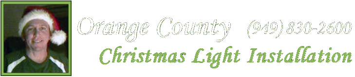 Orange County Christmas Light Installation Home