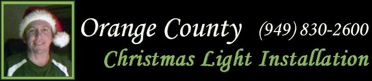 Orange County Christmas Light Installation Home